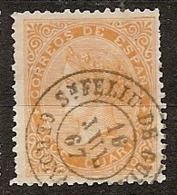 España U 0089 (o) Isabel II. 1867. Foto Exacta - 1850-68 Reino: Isabel II