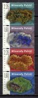 Poland 2013 Polonia / Minerals MNH Minerales Mineralien / Cu0215  33-45 - Minerales