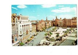 Cpa - Spain Valencia - Caudillo PLACE - Cinéma RIALTO Affiche Film - IBERIA - - Valencia