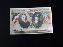 DEUTSCHLANDS   BLOCKADEBRECHER - Guerra 1914-18