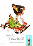 """PUB   """" PEPSI-COLA   """"  1963 ( 1 ) - Poster & Plakate"""