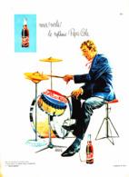 """PUB   """" PEPSI-COLA   """"  1963 ( 2 ) - Poster & Plakate"""