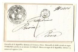 Carta Prefilatelica - ...-1850 Préphilatélie