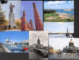 Russie Russia - Lot 48 Postcards (see All Scans) (gentle Price) - Postkaarten
