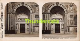 ANCIENNE PHOTO STEREOSCOPIQUE STEREOVIEW FOTO STEREO VUES D'ITALIA - ROME PLACE  BASILIQUE SAINT JEAN DE LATRAN - Stereo-Photographie