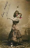 Artistes - Artiste -ref D36- Spectacle -artistes -artiste -femmes - Femme -eloise Carbonell - Espagne -espana -spain  - - Artiesten