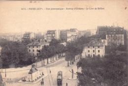 75 - PARIS 14 - Avenue D Orleans - Le Lion De Belfort - District 14