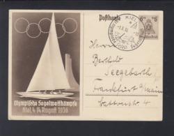 Dt. Reich GSK Olympia 1936 Segeln Kiel - Duitsland