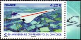 France N° PA  83 A ** Poste Aérienne - 50e Anniversaire Du 1er Vol Du Concorde - Luftpost