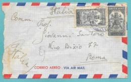 MESSICO MEXICO TO ITALY 1950 - Messico