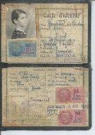 MONTBAZIN - CARTE D'IDENTITE DU 5 AVR 1940 - Frankrijk