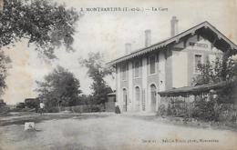82)  MONTBARTIER  - La Gare - Otros Municipios
