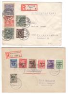 SBZ , 2 Einschreiben - Soviet Zone