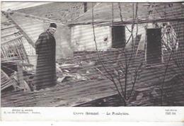 80 CAPPY LE PRESBYTERE GUERRE 1914 1918 - Guerra 1914-18