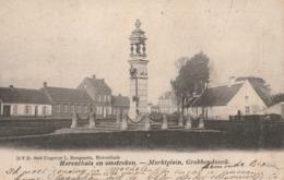 HERENTHALS.-EN OMSTREKEN.-MERKTPLEIN,GROBBENDONCK. - Herentals