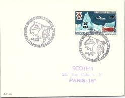 REUNION - LETTRE CACHET ROND FESTIVAL DE L'OCEAN INDIEN 5-6.9.1970 ST GILLES LES BAINS   / 1-R14 - Reunion Island (1852-1975)