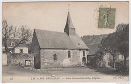 LES ALPES MANCELLES SAINT LEONARD DES BOIS L'EGLISE - Saint Leonard Des Bois