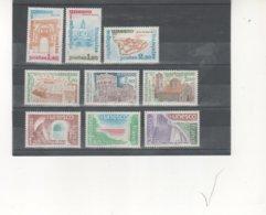 FRANCIA -UNESCO Conjunto 9 Sellos Distintos Nuevos  (según Foto) - Servicio