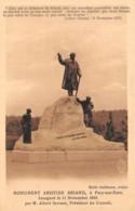 27-PACY SUR EURE MONUMENT D ARISTIDE BRIAND-N°T1072-E/0077 - Pacy-sur-Eure