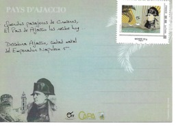 Tarjeta Turistica Napoleon I - Francia