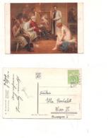 FB69 POSTCARD Quadro Pittore 1914 Jeanne Maillard Stamp Magyar Posta Ungheria - Pittura & Quadri