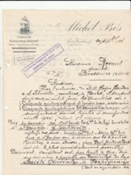 PYRENEES ORIENTALES  .  Port Vendres . MICHEL BES-   Grains  Caroubes Et Issues  A4 - Alimentaire