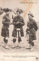Militaire Guerre 1914 1918 Highlanders Canadiens Lisant Des Lettres De Leurs Amis Ecossais Serie Croquis De Guerre 1914 - Guerra 1914-18
