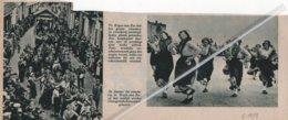 HEYST-AAN-ZEE..1939.. VISSCHERS EN VISSCHERIJ FEESTELIJKHEDEN - Oude Documenten
