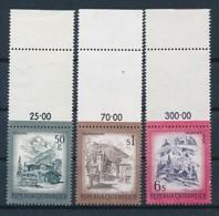 ÖSTERREICH Mi. Nr. 1475-1477 Freimarken: Schönes Österreich - Leerfeld - Siehe Scan - MNH - 1945-.... 2. Republik