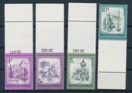 ÖSTERREICH Mi. Nr. 1430-1433 Freimarken: Schönes Österreich - Leerfeld - Siehe Scan - MNH - 1945-.... 2. Republik
