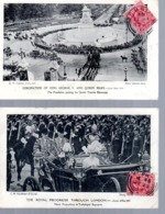 LONDON  -  CORONATION OF KING GEORGE V And QUEEN MARY - June 22nd 1911  - Queen Victoria Memorial  Trafalgar Square - Altri