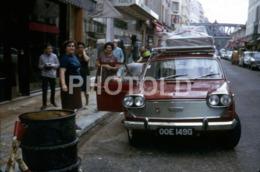 1969 UK PLATE AUSTIN 3 LITRE CAR PARIS FRANCE 35mm AMATEUR DIAPOSITIVE SLIDE Not PHOTO No FOTO B4930 - Dias