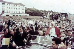 1967  ROLLS ROYCE PHANTOM III PAUL VI POPE FATIMA PORTUGAL 35mm DIAPOSITIVE SLIDE Not PHOTO No FOTO B4931 - Dias