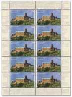 2017 Germany  Europa CEPT Wartburg Castle- Lüther Refuge-sheetlet / KB 10 V Paper - MNH**  MiNr. 3310 - Unused Stamps