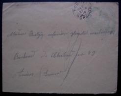 Pontivy 1916 (Morbihan) 11e Corps D'armée Hôpital Temporaire N°18 - Postmark Collection (Covers)