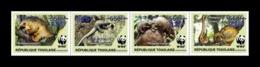 Togo 2019 Mih. 10600II/03II Fauna. WWF. Tree Pangolins (dark Blue Overprint 825) MNH ** - Togo (1960-...)
