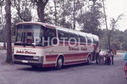 1975 WERNER GEHLE REISEN NEOPLAN BUS AUTOBUS FRANCE 35mm AMATEUR DIAPOSITIVE SLIDE Not PHOTO No FOTO B4932 - Dias