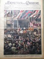 La Domenica Del Corriere 19 Maggio 1935 Giorgio V Valenza Illuminare Casa Trento - Libri, Riviste, Fumetti