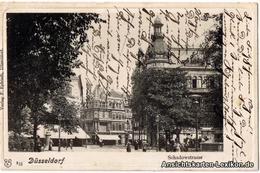 Ansichtskarte Düsseldorf Schadowstraße - Belebt 1901 - Duesseldorf