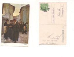 FB80 POSTCARD Quadro Pittore JAROSLAW PSTRAK 1914 Stamps Austria Osterreichische Post - Pittura & Quadri