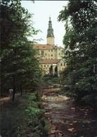 Weesenstein (Müglitz) Schloss Weesenstein - Müglitzbrücke Im Park 1990 - Weesenstein A. D. Mueglitz