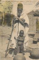 A P 591 -  C P A - AFRIQUE-    SENEGAL  - VIEUX MANDINGUE CHARMEUR DE SERPENTS  SORCIER ET MEDECIN - Sénégal