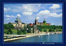 Postcard Stettin Szczecin Wały Chrobrego/Hakenterrasse 1995 - Pommern