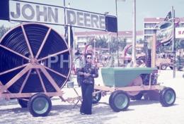 1975 TRACTOR JOHN DEERE EXPOSITION PORTUGAL 35mm AMATEUR DIAPOSITIVE SLIDE Not PHOTO No FOTO B4936 - Dias