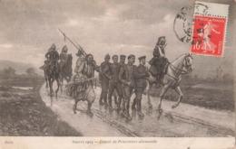 Militaire Guerre 1914 1918 Convoi De Prisonniers Allemands Illustration Dragon Dragons Cachet 1915 - Guerre 1914-18