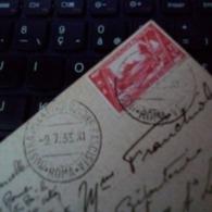 MOSTRA DELLA RIVOLUZIONE FASCISTA ROMA 9/7/33 PER FRANCIA - Machine Stamps (ATM)