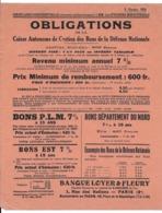 CIRCULAIRE CONFIDENTIELLE OCTOBRE 1926 OFFCIERS MINISTERIELS OBLIGATIONS PARIS AFFICHE 27X22 CM - Afiches