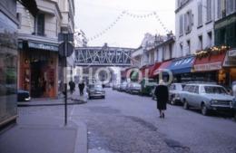 1968 VOITURE SIMCA ARONDE OPEL REKORD CITROEN DS PARIS FRANCE 35mm AMATEUR DIAPOSITIVE SLIDE Not PHOTO No FOTO B4938 - Dias
