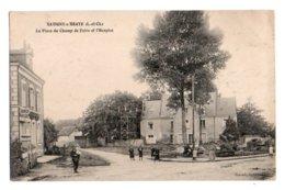 (41) 3346, Savigny Sur Braye, Raoul, La Place Du Champ De Foire Et L'Hospice - Other Municipalities