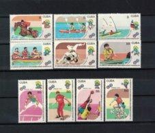 KUBA , Cuba ,  1990 , ** , MNH , Postfrisch ,  Mi.Nr. 3439 - 3448 - Kuba